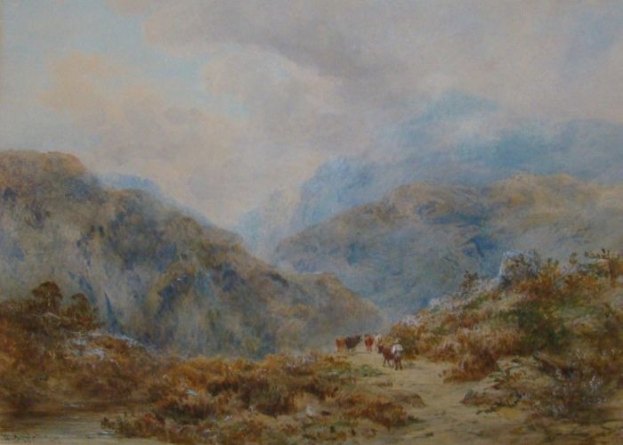 Snowdon Aberglaslyn by William L Appleton