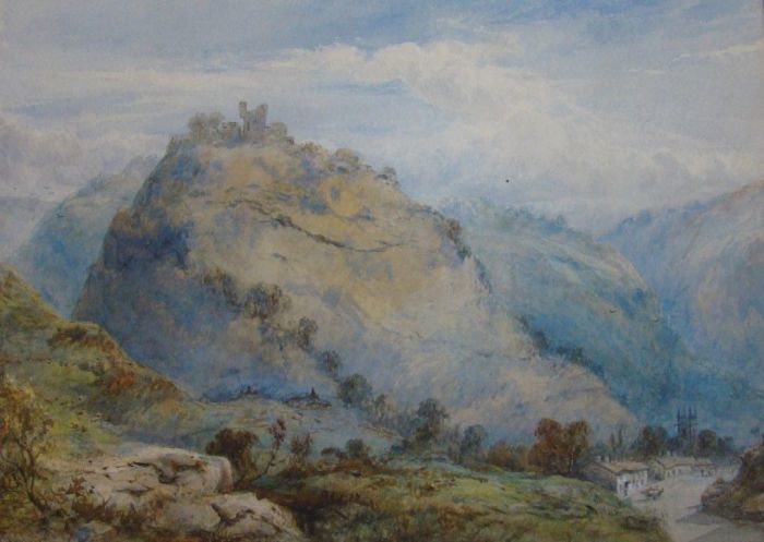 Castleton-Derbyshire by William L Appleton