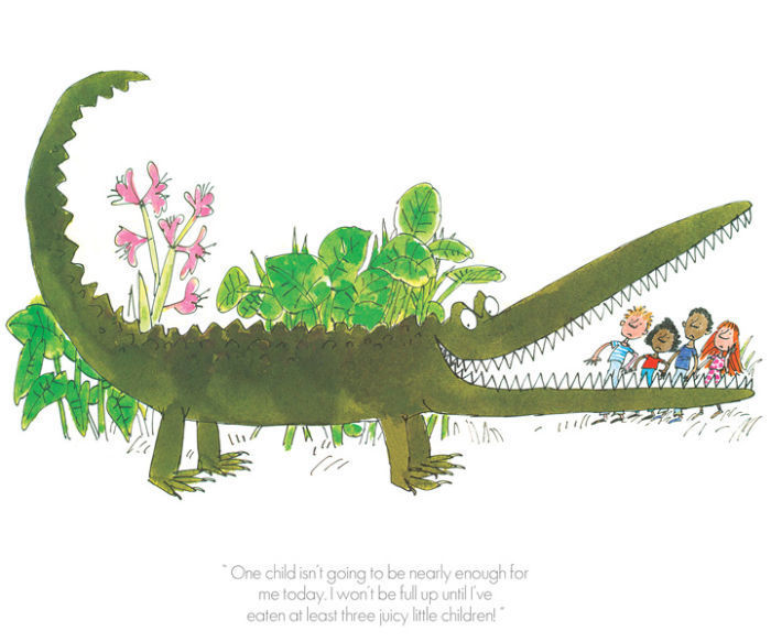 One child isn't enough by Sir Quentin Blake