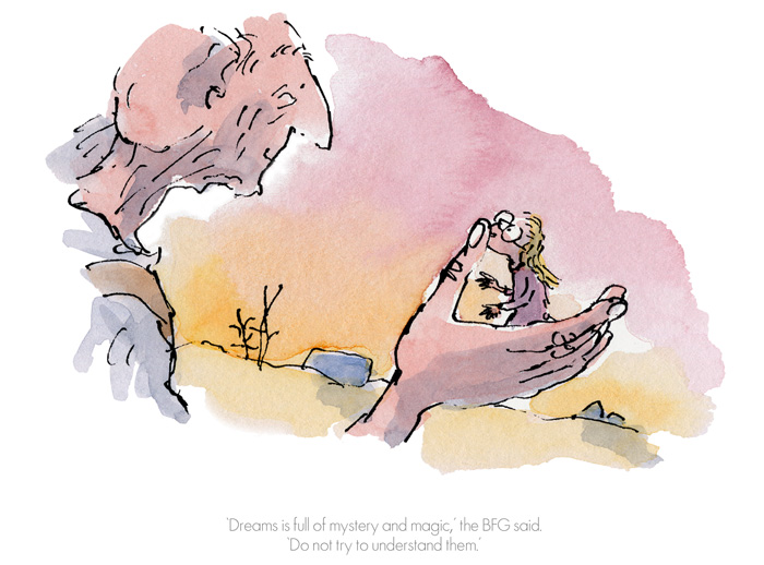 Dreams is full of mystery and magic by Sir Quentin Blake