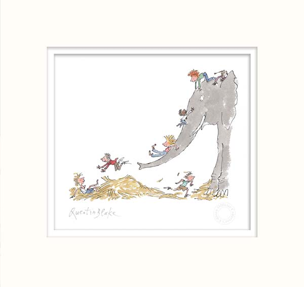 It's large and grey and lots of fun by Sir Quentin Blake