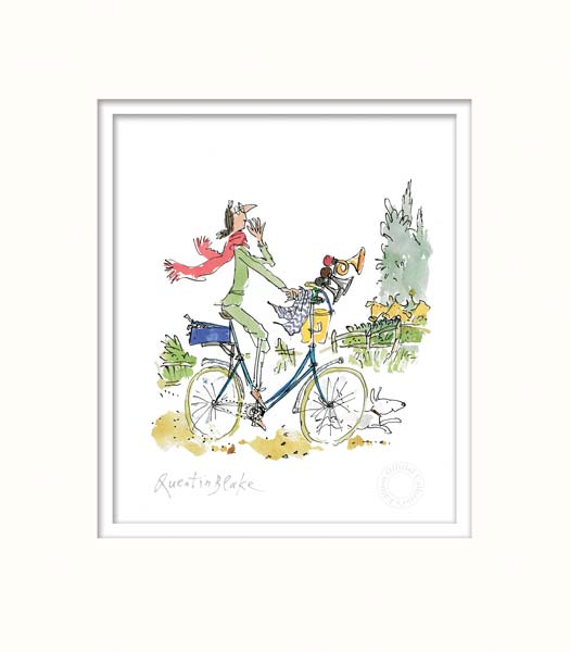 """What this bike needs"" said Mrs Armitage by Sir Quentin Blake"