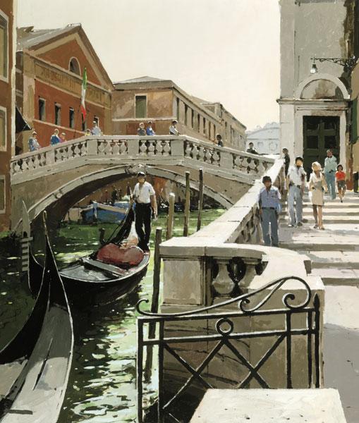 Rio di Palazzo, Venice by Jeremy Barlow