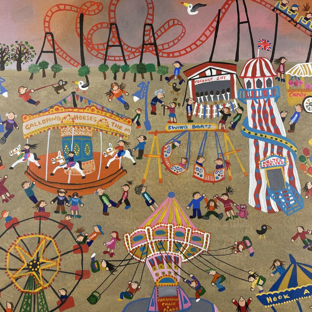 Fun at the Fair by Caroline Appleyard