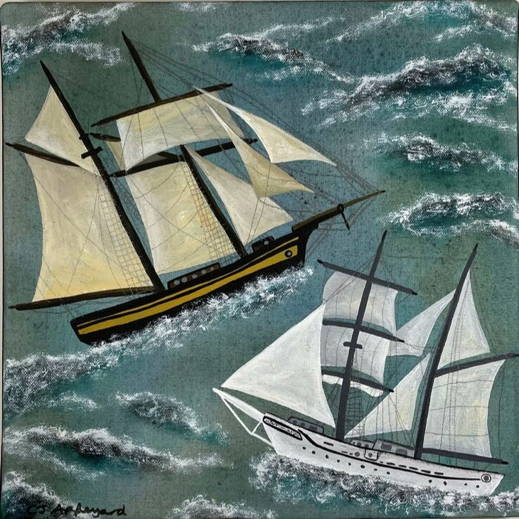Ships That Pass In The Night by Caroline Appleyard
