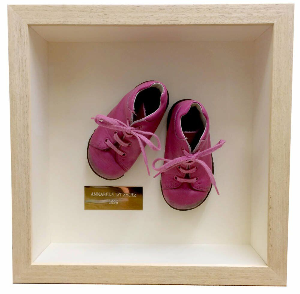 3D Object Custom Box Framing - pink shoes 152400000