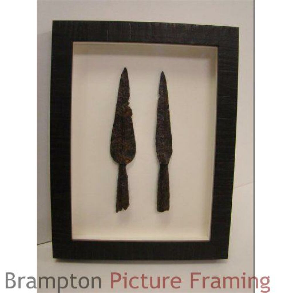 Arrowheads Framing - projects framing stitches