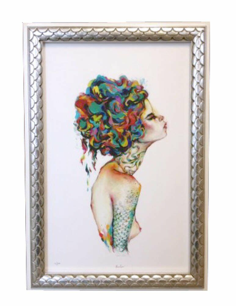 Art Prints - acrylic white colours charmaine olivia santa catalina