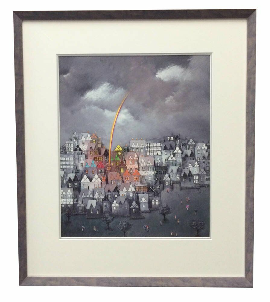 Simple grey frame - Bill Tolley - Pot of Gold
