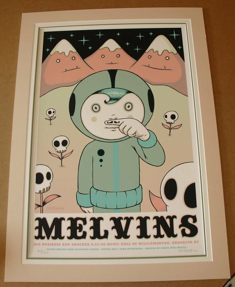 triple mounts - Tara McPherson - Melvins