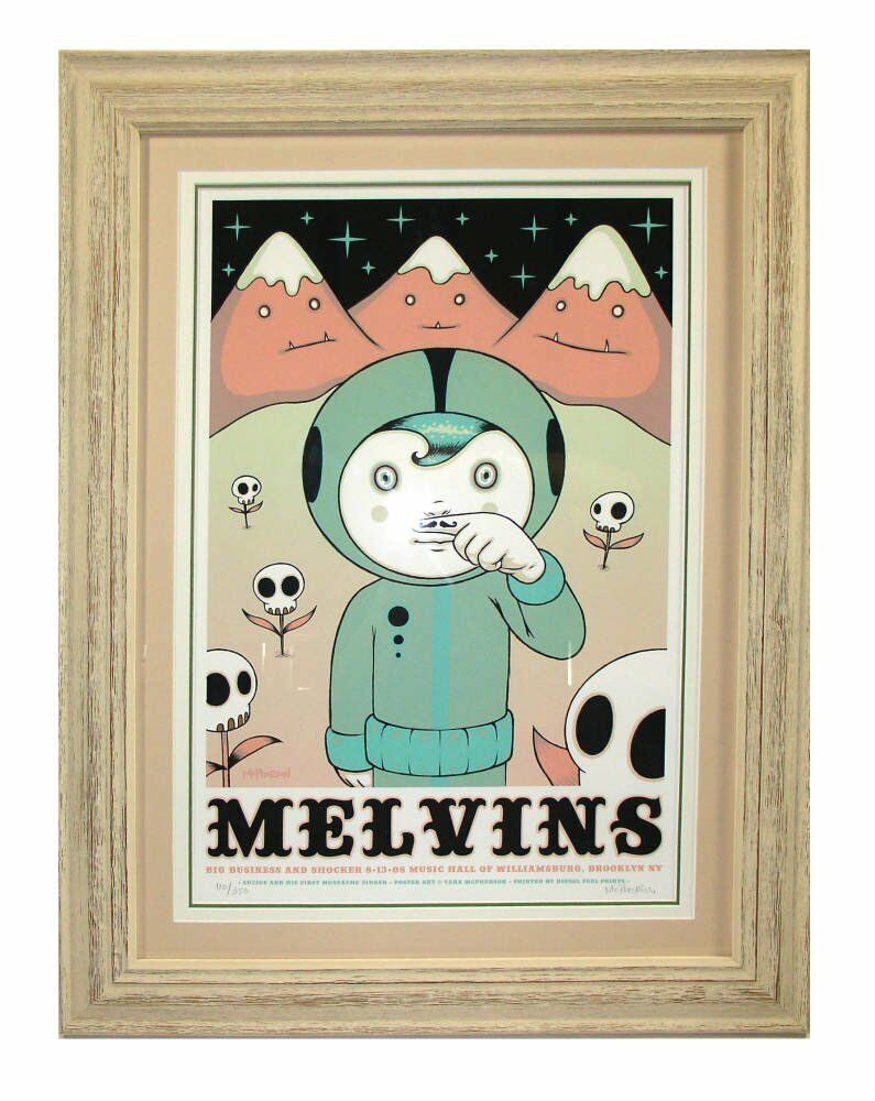 Tara McPherson - Melvins -  framing projects