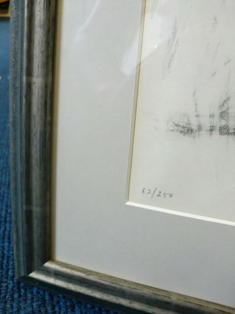 Limited edition nude sketch - Larson Juhl moulding