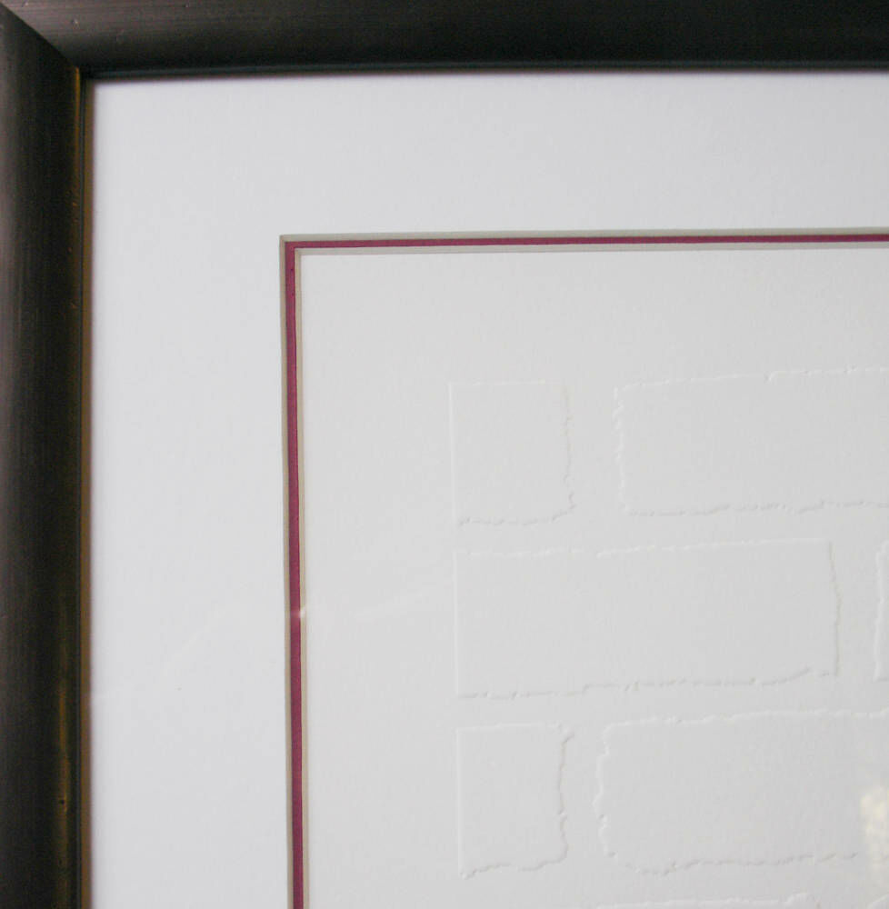 Mighty mo red limted edition prints framed embossed framing