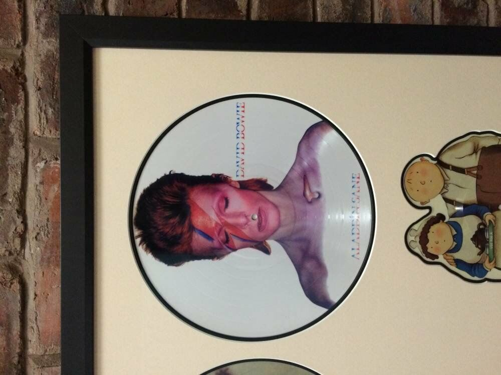Custom mounts aladdin sane china girl - David Bowie Records