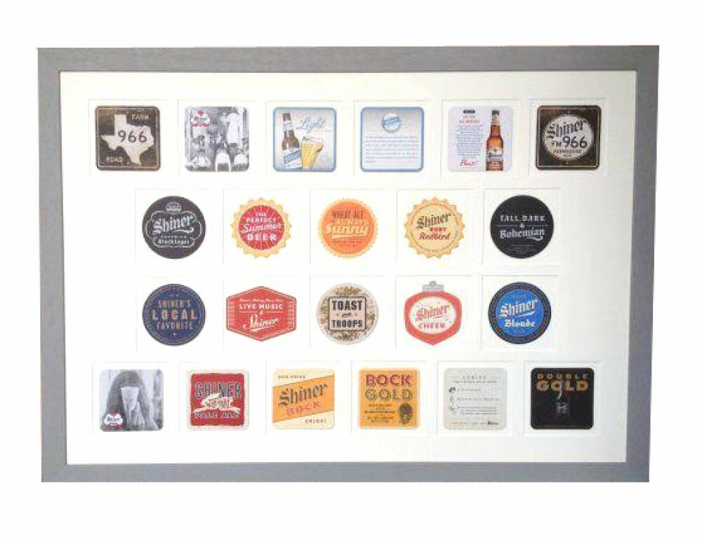 Multiple Aperture Picture Framing Examples - multi aperture mounts Framing beer mats