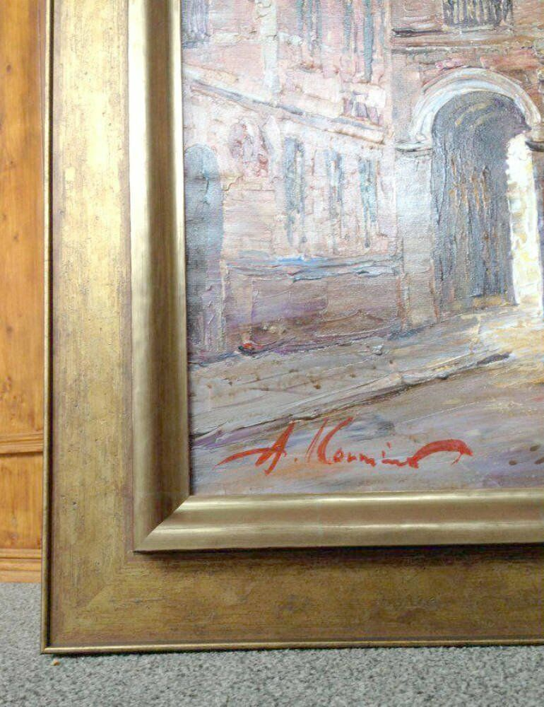 Oil Painting Framing - contemporary bruges stunning moulding reverse moulding