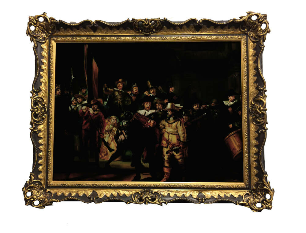 Oil Painting Framing - Rembrandt reproduction