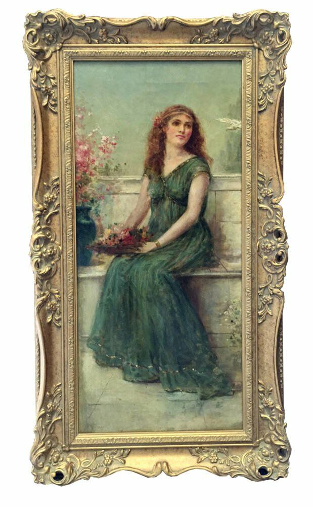 Carroll paintings barton galleries traditional antique frames traditional frames - Joseph William Carroll oil paintings