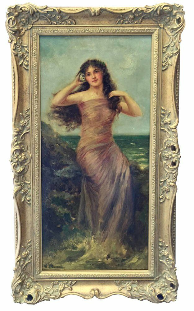 Ornate picture framing - antique frames carroll paintings barton galleries
