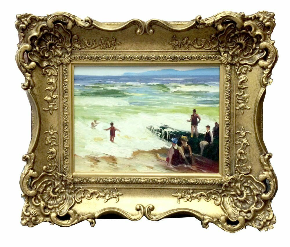 Small gold frame small -oil paintings -decorative gold frame oil