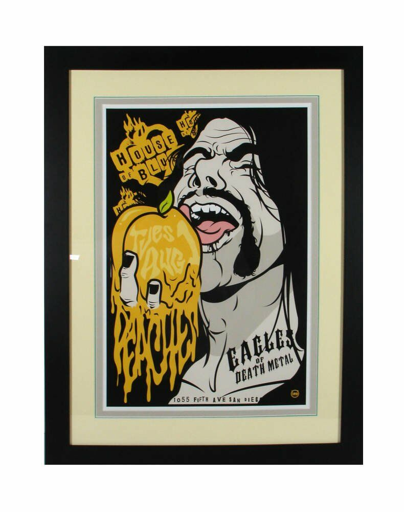 Low reflective glass- Eagles of Death Metal poster framed
