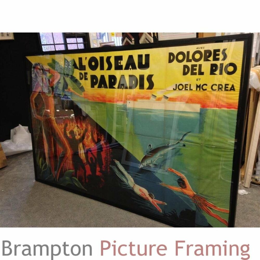 Photos 1932 - Very Large 1930s French film poster
