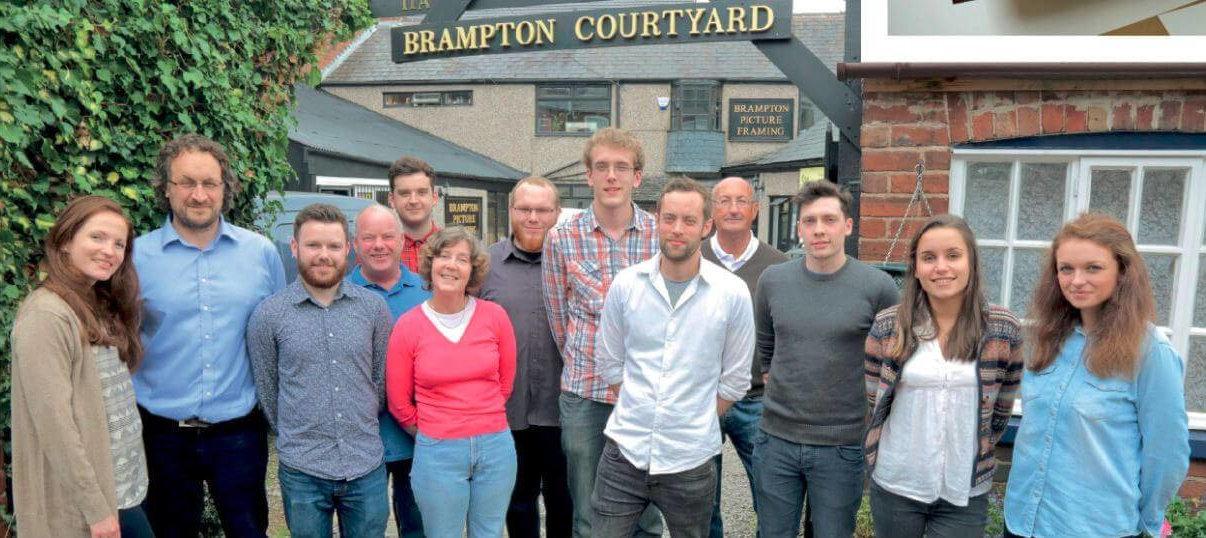The Brampton Framing Team